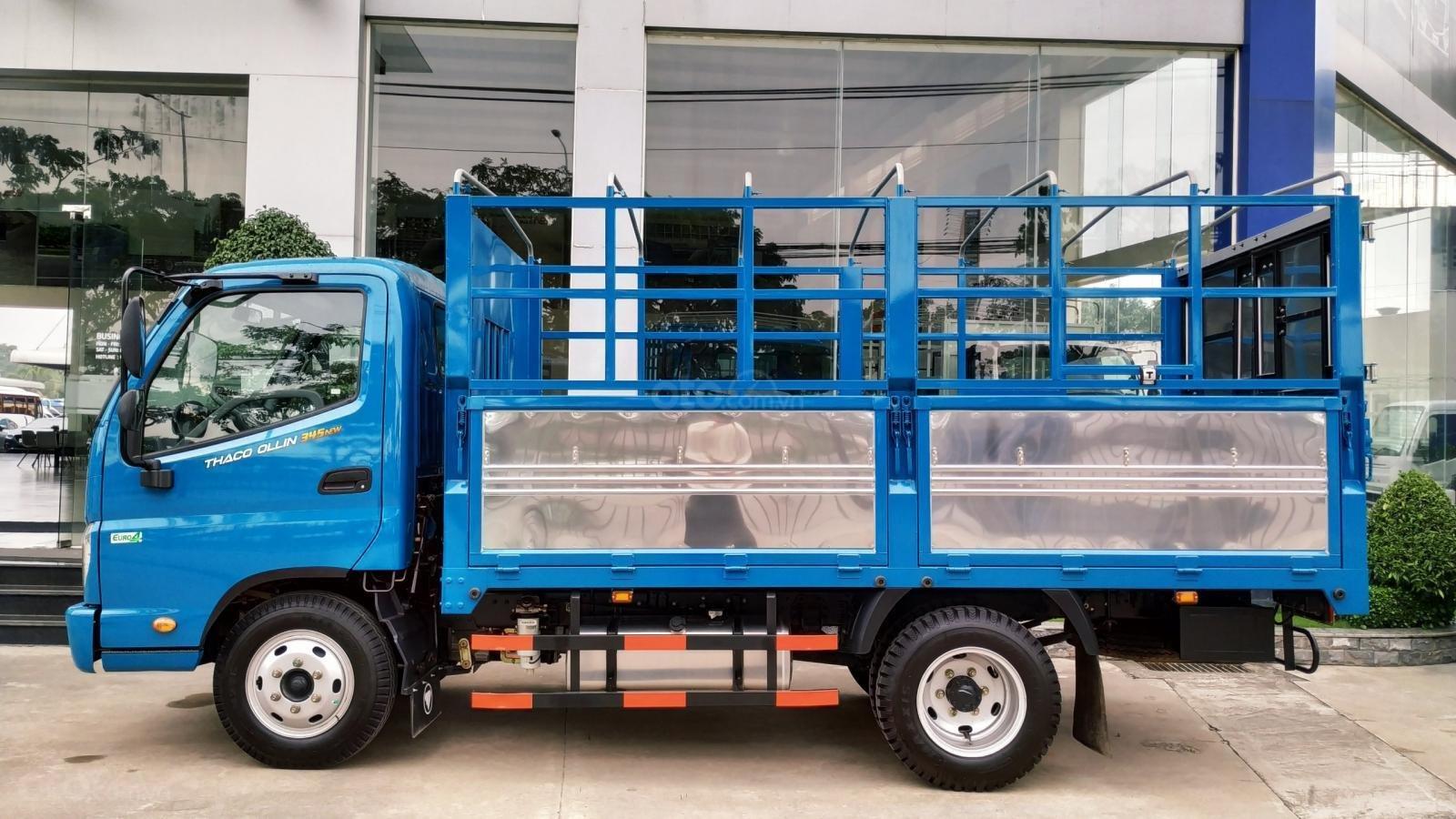 Bán xe tải Thaco Ollin 345. E4 - EURO 4 - tải 2 tấn 4 - mới nhất - hỗ trợ trả góp (4)
