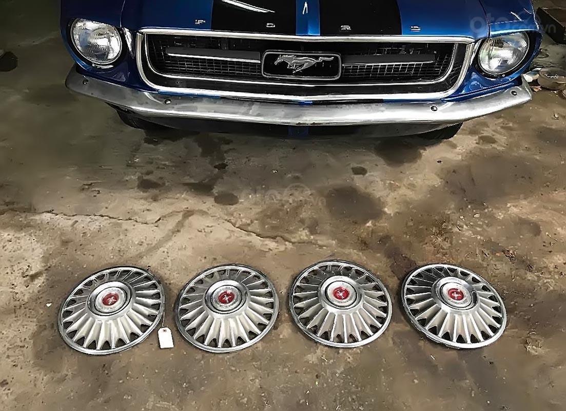 Bán Ford Mustang năm sản xuất 1967, màu xanh lam, xe nhập (2)