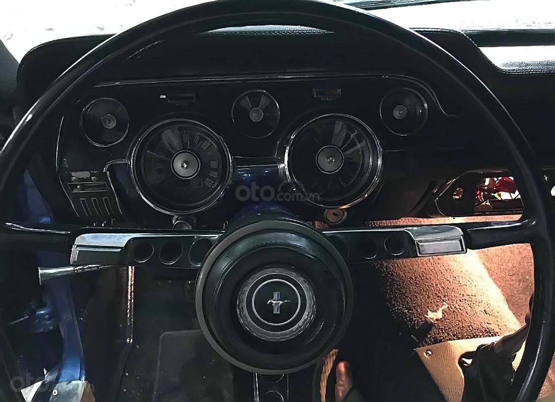 Bán Ford Mustang năm sản xuất 1967, màu xanh lam, xe nhập (5)
