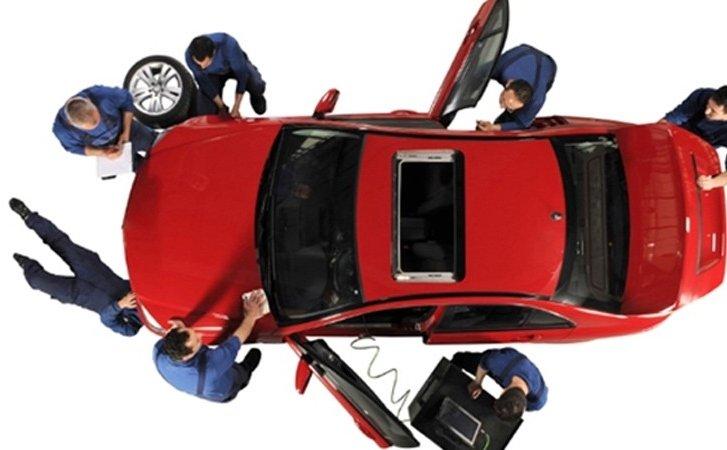 Kiểm tra kỹ xe trước khi thuê xe tự lái.