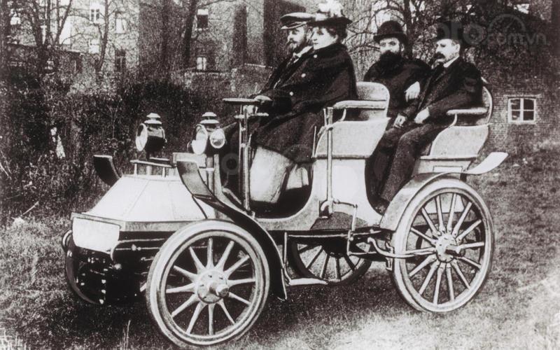 Những chiếc xe đầu tiên của Horch.