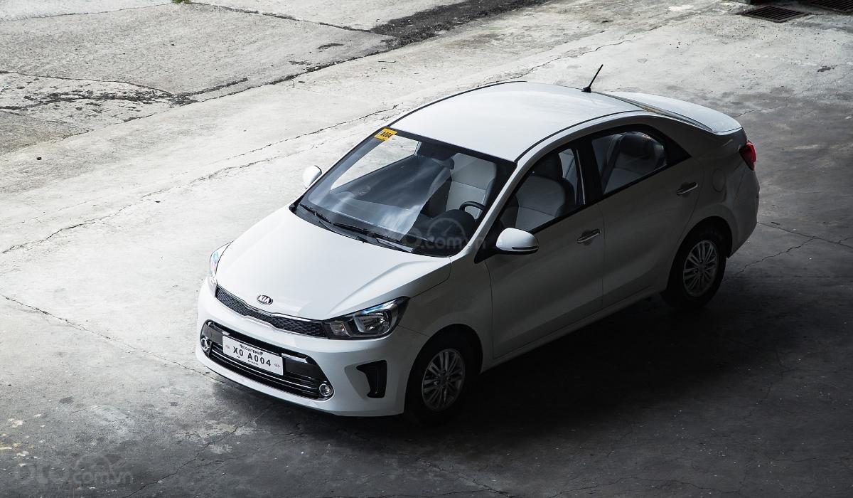 Đánh giá xe Kia Soluto 2019 về đầu xe - Tao nhã nhưng dễ nhận biết
