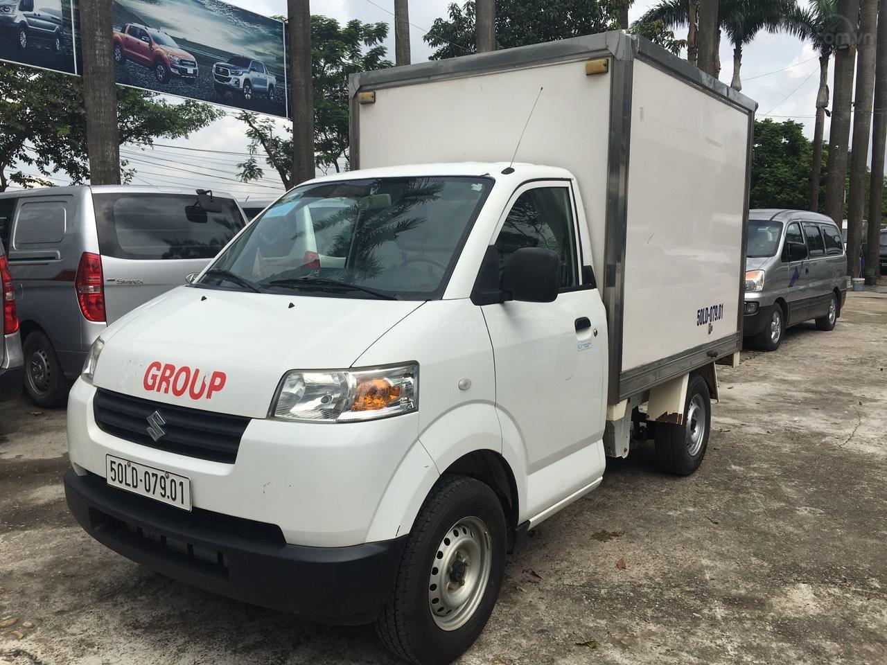 Bán Suzuki đầu to đời 2016, nhập khẩu Indonesia, thùng kín, xe chạy ít (3)