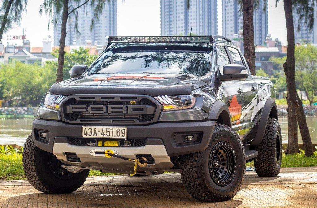 Ford Ranger Raptor 2020 tại Việt Nam sẽ sử dụng dòng lốp mới a3