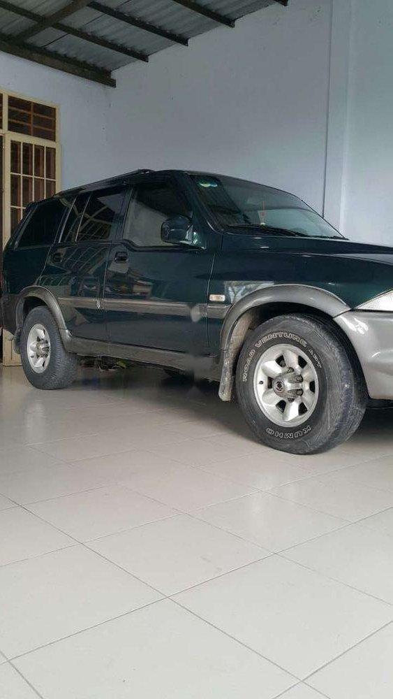 Chính chủ bán xe Ssangyong Musso sản xuất năm 2004, màu xanh lục-0
