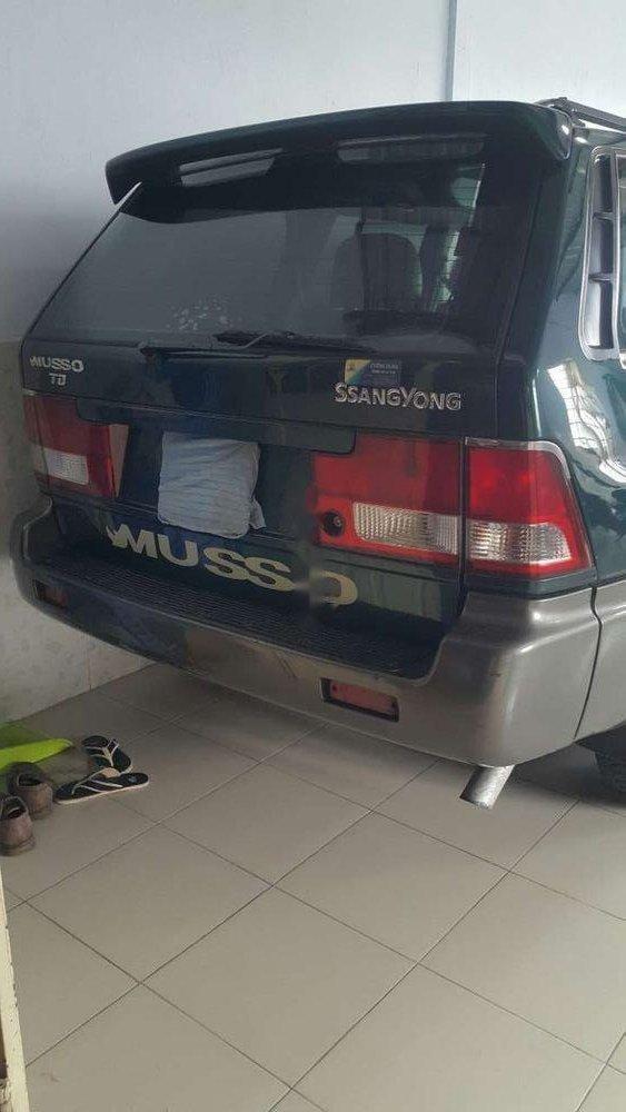 Chính chủ bán xe Ssangyong Musso sản xuất năm 2004, màu xanh lục-4