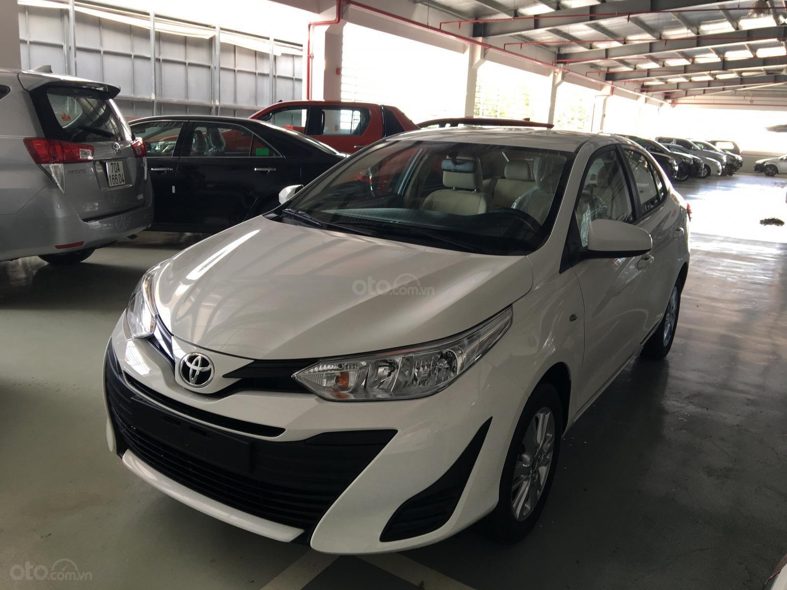 Bán Trả góp Toyota Vios E năm 2019, màu trắng, 470 triệu tại Toyota Tây Ninh (10)