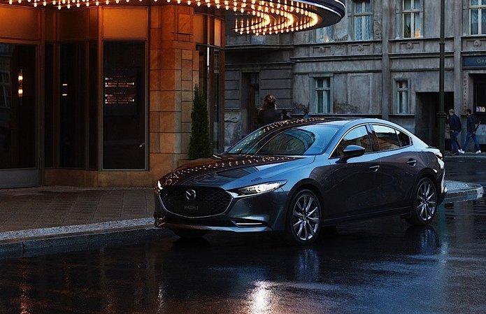 Mazda 3 2019 sở hữu diện mạo đẹp mắt, có giá từ 500 triệu đồng tại Mỹ.