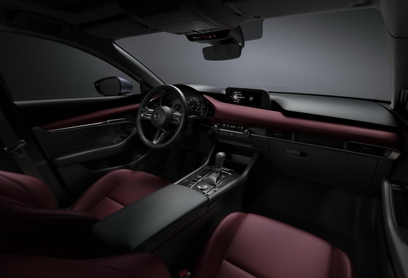 Nội thất sang trọng của Mazda 3 2019.