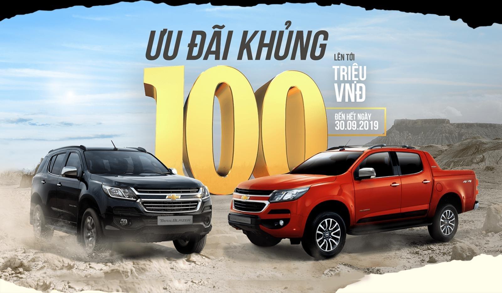 VinFast ưu đãi xe Chevrolet tháng 9 lên đến 100 triệu đồng a1