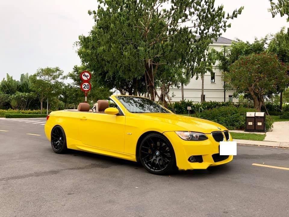 Bán xe BMW 325i đời 2008, màu vàng, xe nhập-7