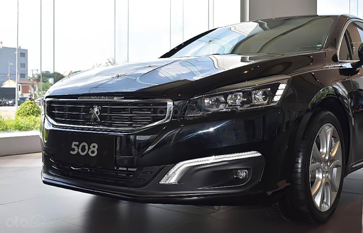 Bán Peugeot 508 1.6 AT đời 2019, màu đen, nhập khẩu-0