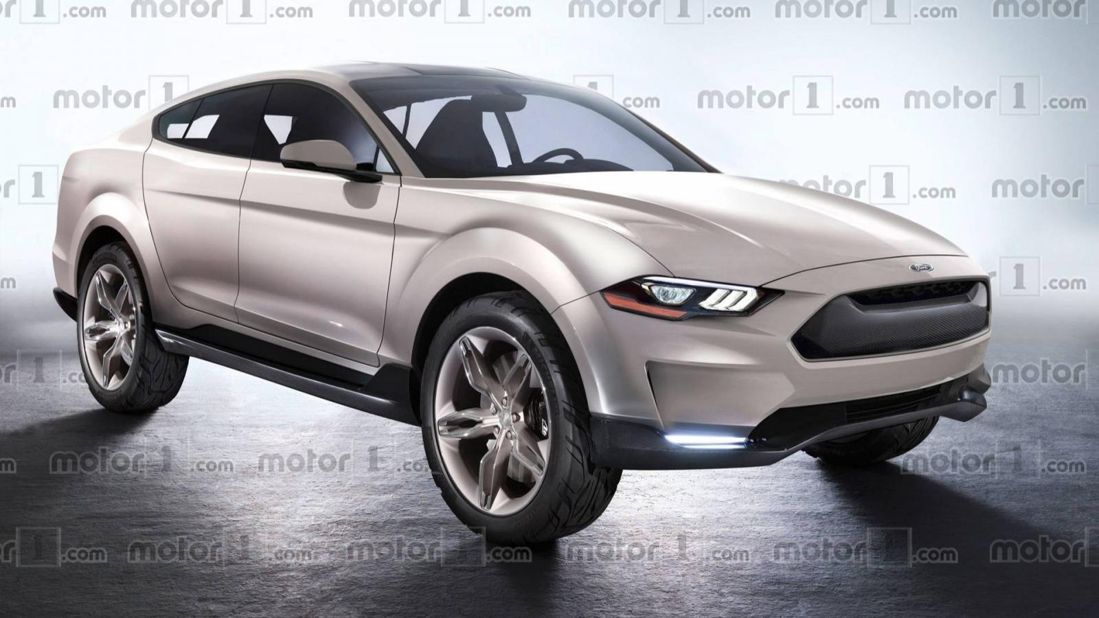 Fan ô tô sắp diện kiến mẫu crossover điện có thiết kế giống Ford Mustang a1