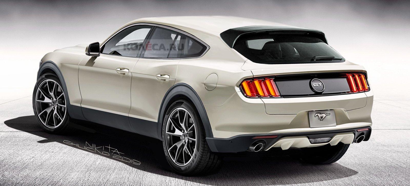 Fan ô tô sắp diện kiến mẫu crossover điện có thiết kế giống Ford Mustang a3