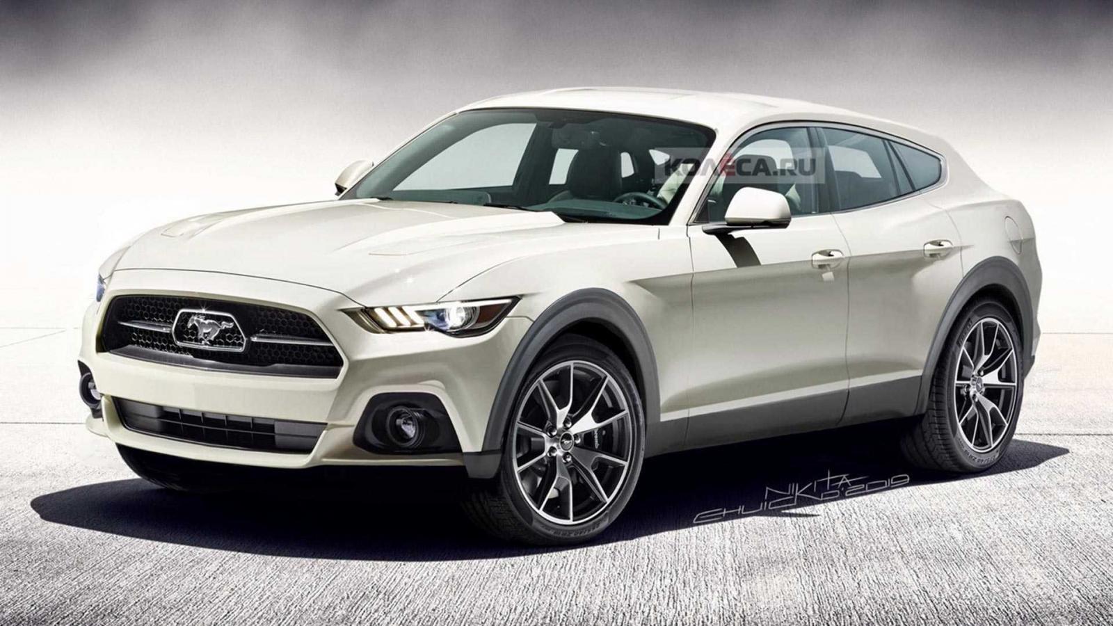Fan ô tô sắp diện kiến mẫu crossover điện có thiết kế giống Ford Mustang a4