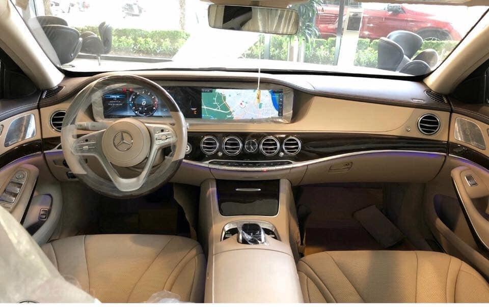 Giá bán và khuyến mãi Mercedes S450 sx 2019, giá lăn bánh, ưu đãi bảo hiểm và phụ kiện chính hãng (9)