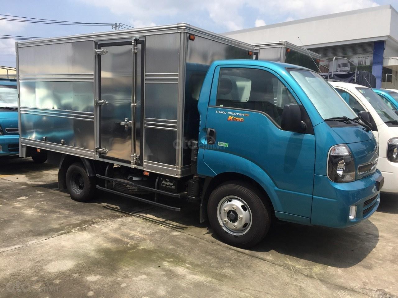 Xe tải 2.5 tấn Thaco Kia K250, động cơ Hyundai đời 2019, trả góp 70% tại Bình Dương - Liên hệ: 0944.813.912 (1)