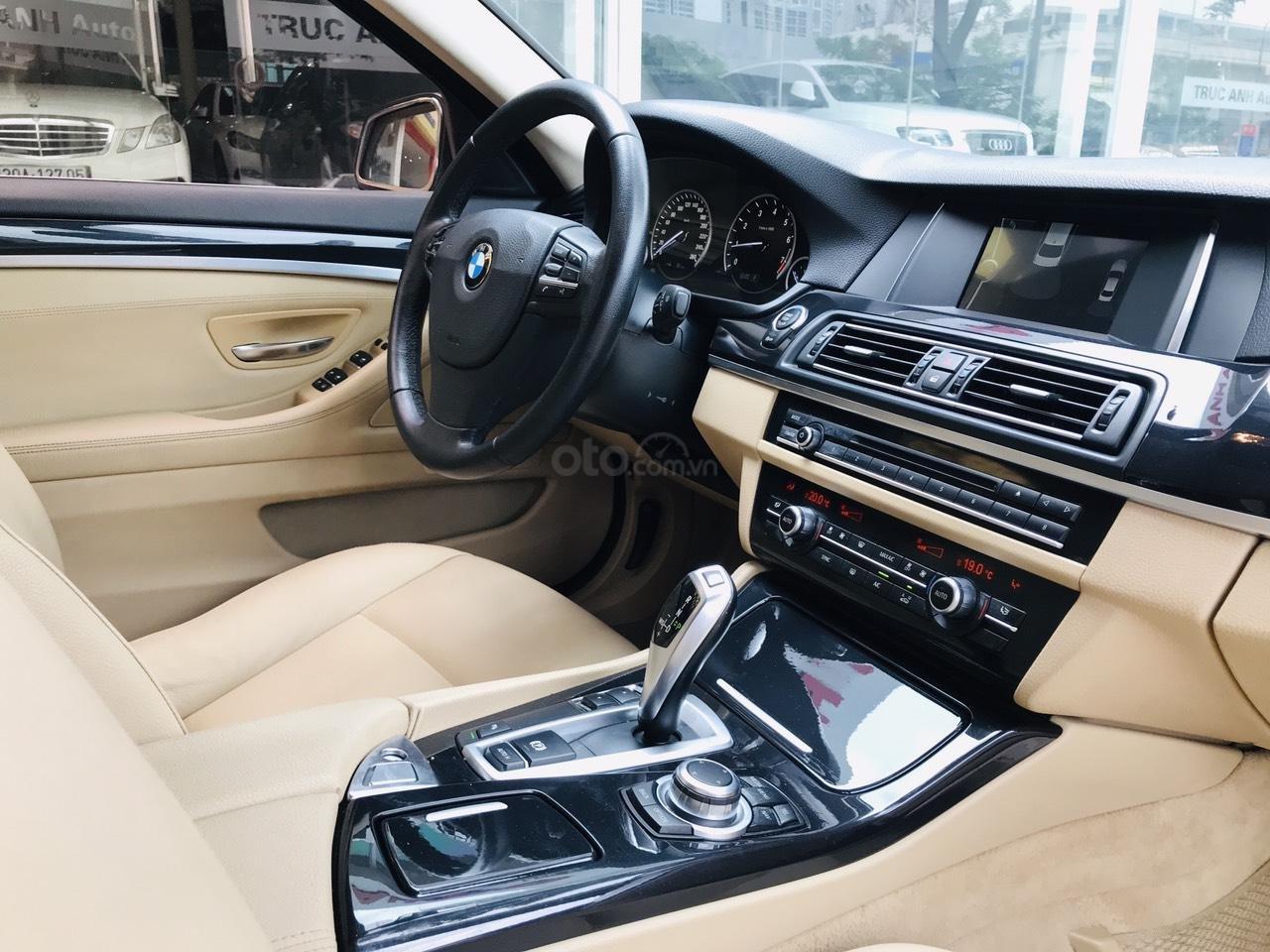 Bán xe BMW 5 Series 520i đời 2015, màu xanh lam, nhập khẩu nguyên chiếc (20)