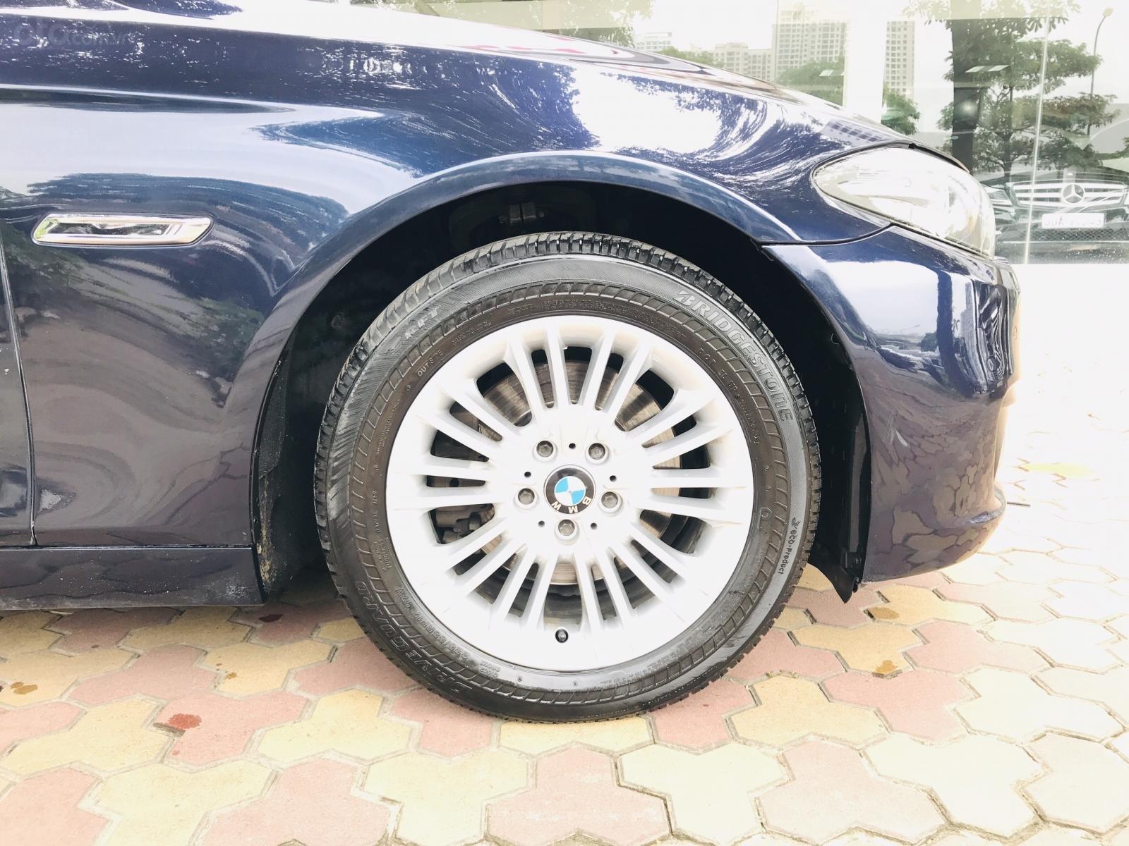 Bán xe BMW 5 Series 520i đời 2015, màu xanh lam, nhập khẩu nguyên chiếc (6)