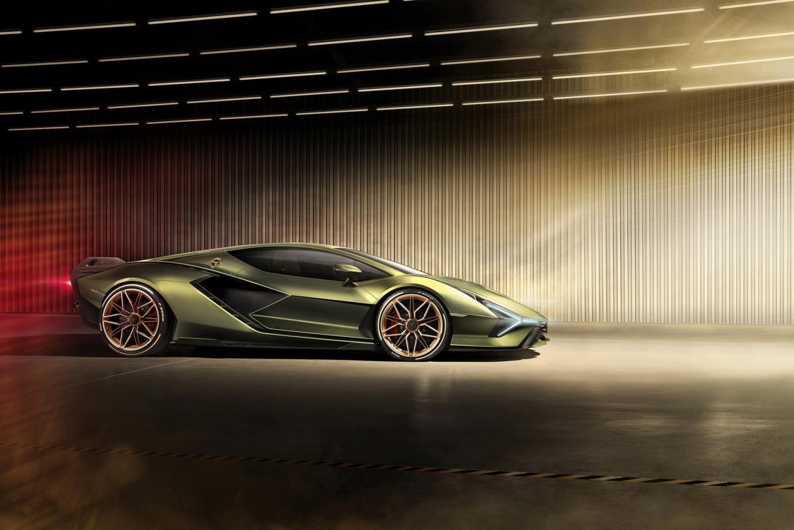 Chỉ có 63 chiếc Lamborghini Sián được sản xuất.
