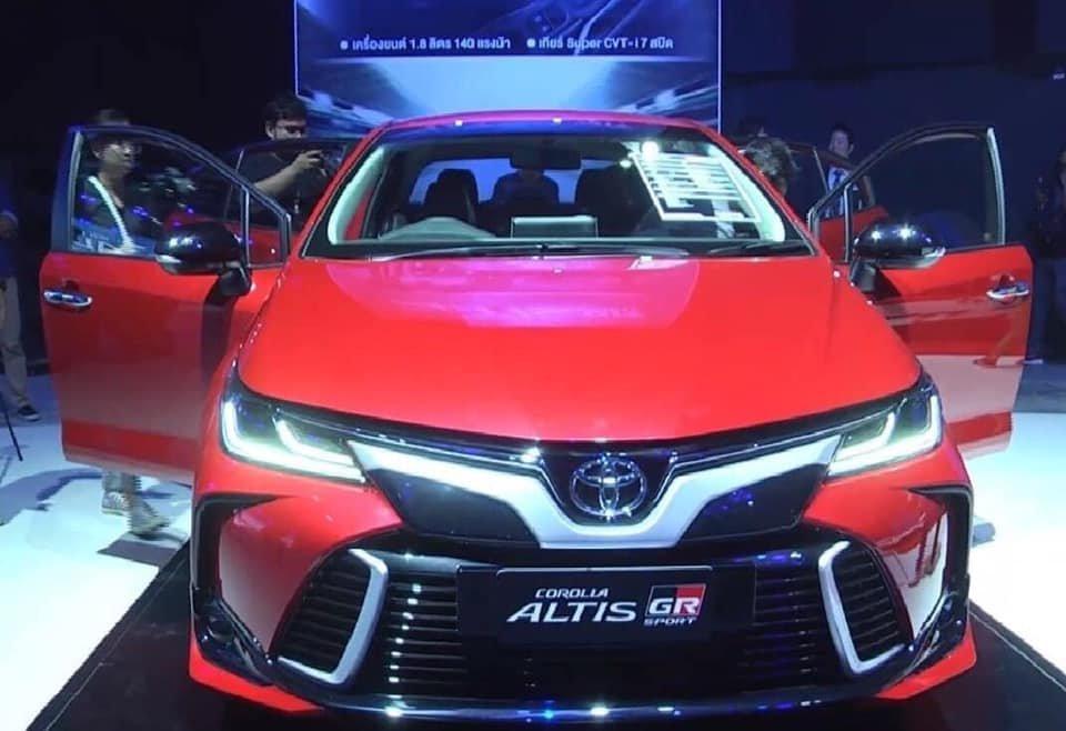 Toyota Corolla Altis 2020 ra mắt Thái Lan, cuối năm về Việt Nam? a1