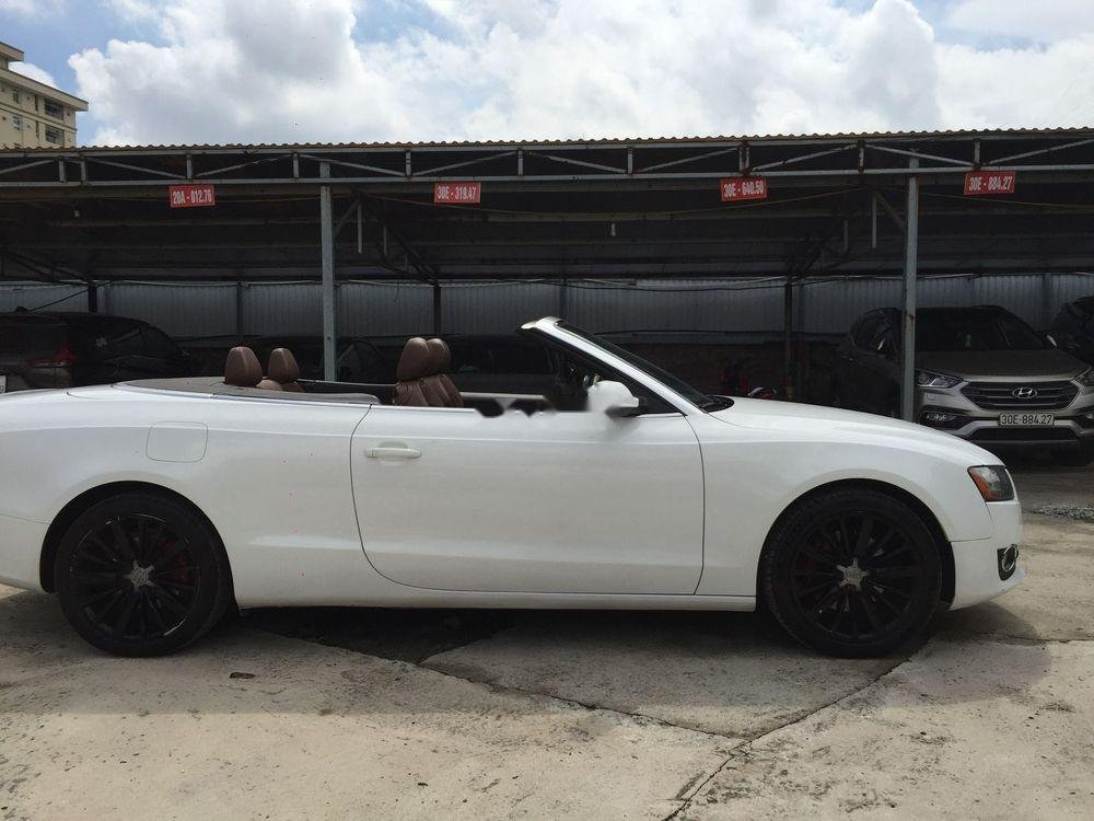 Chính chủ bán xe Audi A5 đời 2010, màu trắng, nhập khẩu nguyên chiếc (6)