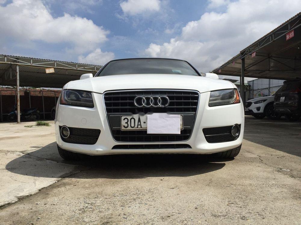 Chính chủ bán xe Audi A5 đời 2010, màu trắng, nhập khẩu nguyên chiếc (2)
