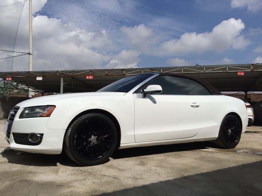 Chính chủ bán xe Audi A5 đời 2010, màu trắng, nhập khẩu nguyên chiếc (1)