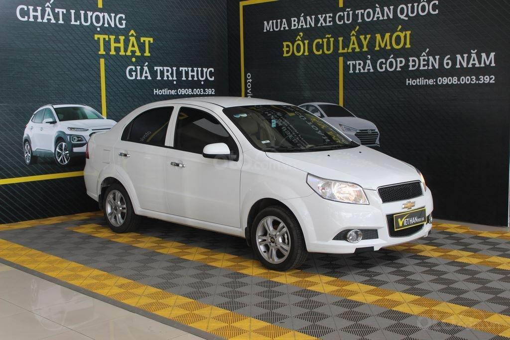 Cần bán Chevrolet Aveo LT 1.4MT sản xuất 2018, màu trắng, giá chỉ 348 triệu (4)
