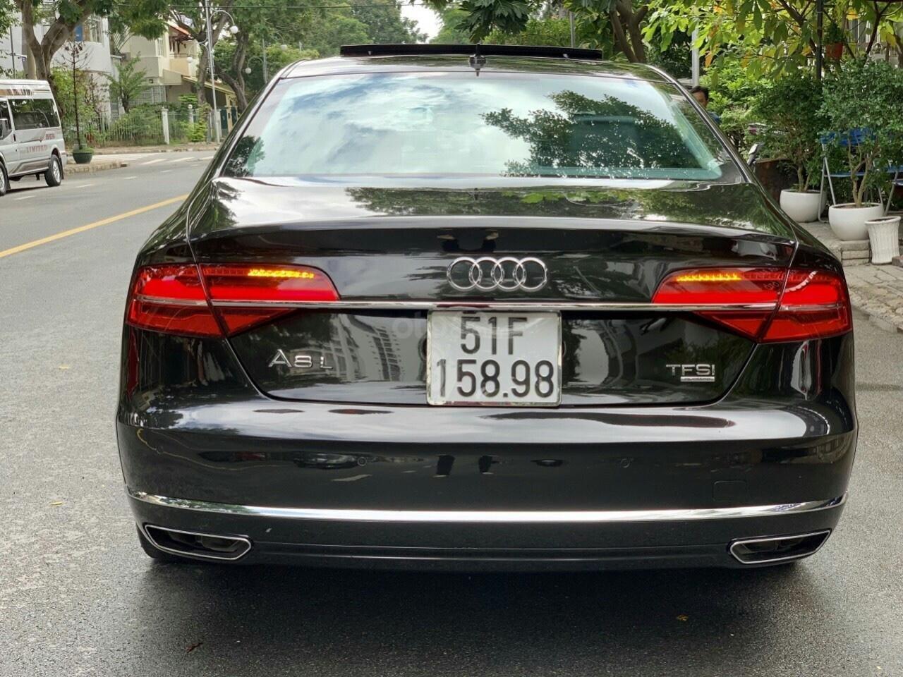 Cần bán xe Audi A8L sản xuất năm 2015, màu đen, nhập khẩu nguyên chiếc (4)