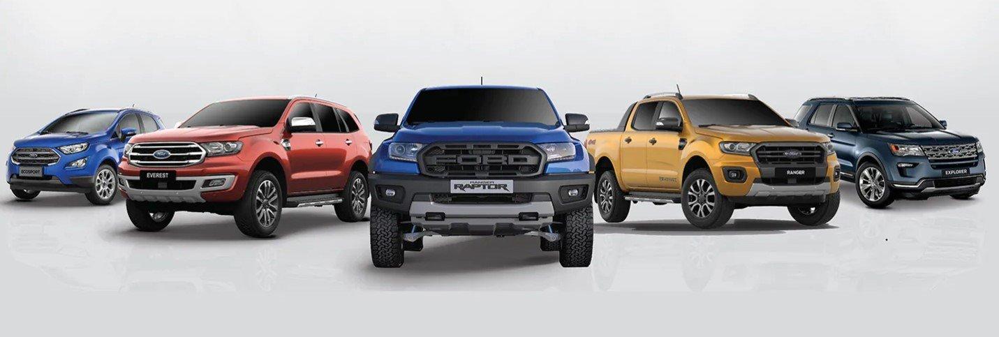 Ưu đãi mới nhất của các dòng xe Ford trong tháng 9/2019.