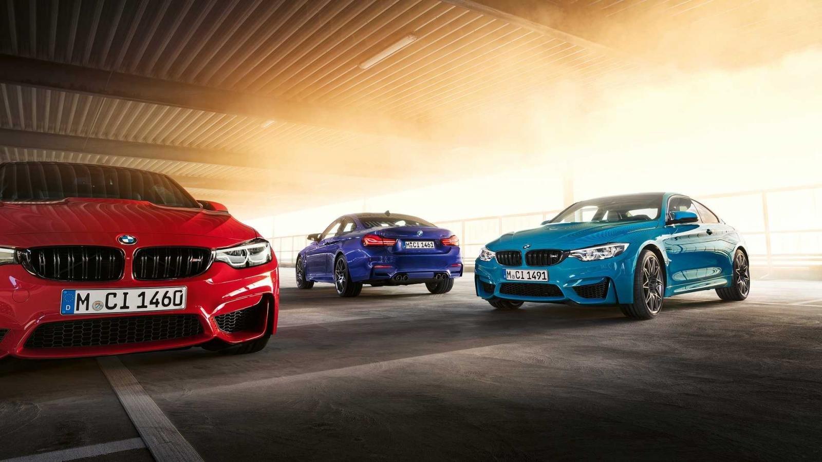 BMW M4 Edition M Heritage có sức mạnh 450 mã lực, mạnh hơn M4 tiêu chuẩn.