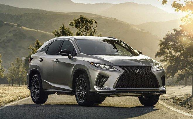 Lexus RX 2020 được nâng cấp mới.