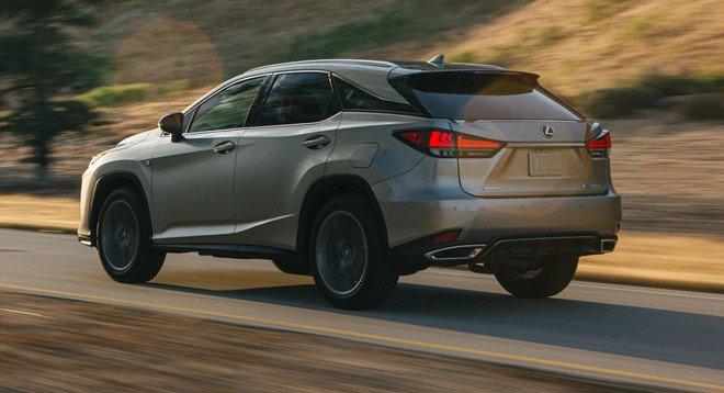 Nội thất Lexus RX 2020 sử dụng động cơ V6 3.5L.