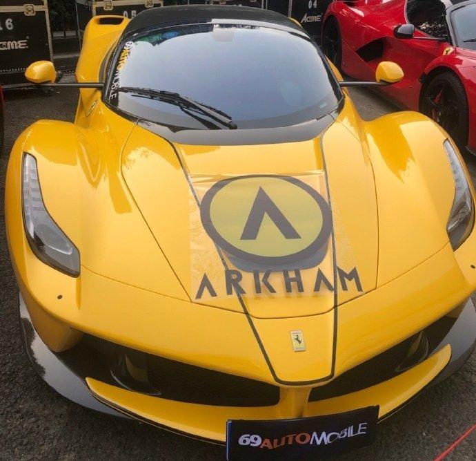 Chỉ có một chiếc Ferrari LaFerrari màu vàng
