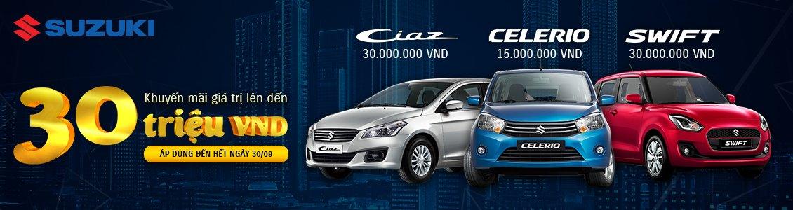 Suzuki SWift, Ciaz giảm cao nhất 30 triệu đồng trong tháng 9/2019 a1