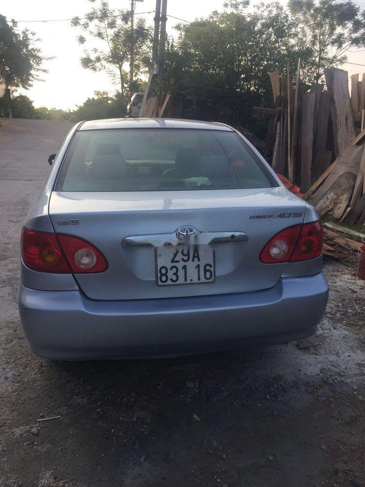 Bán Toyota Corolla Altis sản xuất 2002, màu bạc, xe gia đình (2)