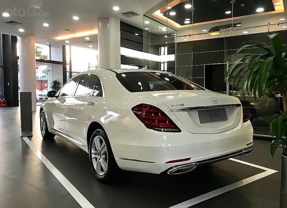 Cần bán xe Mercedes S450L năm 2019, màu trắng (1)