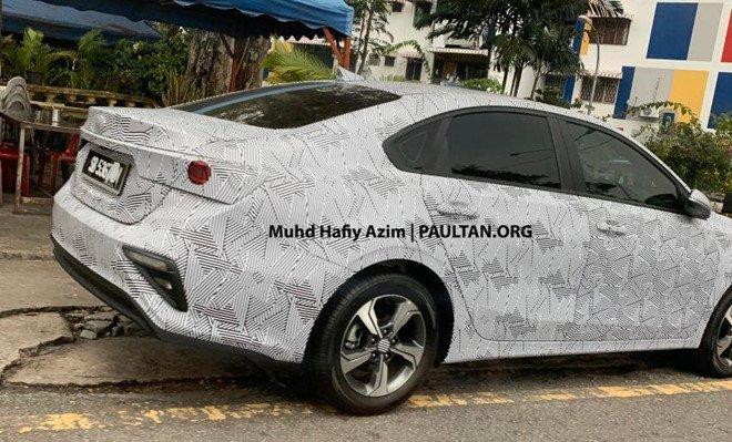 Kia Cerato 2019 âm thầm chạy thử tại Malaysia a3