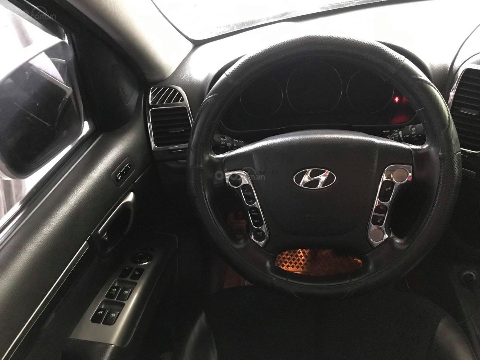Bán Hyundai Santa Fe SLX 2010 full option 2.0, dầu, màu bạc, nhập khẩu, giá thương lượng (3)