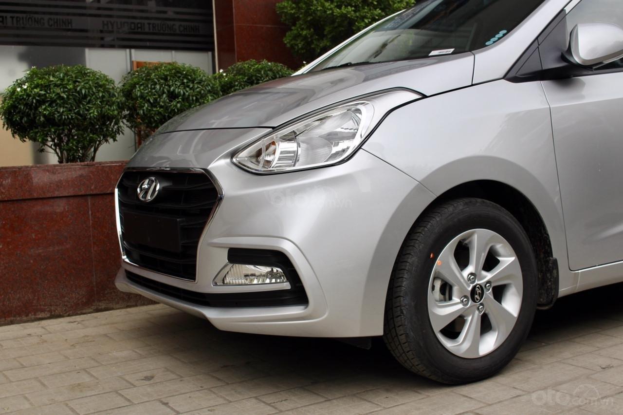 """""""Sốc"""" Tặng 15 triệu phụ kiện - Chỉ 125 triệu - Hyundai Grand i10 Sedan 1.2MT 2019, trả góp 85% - SĐT 0933222638 (3)"""
