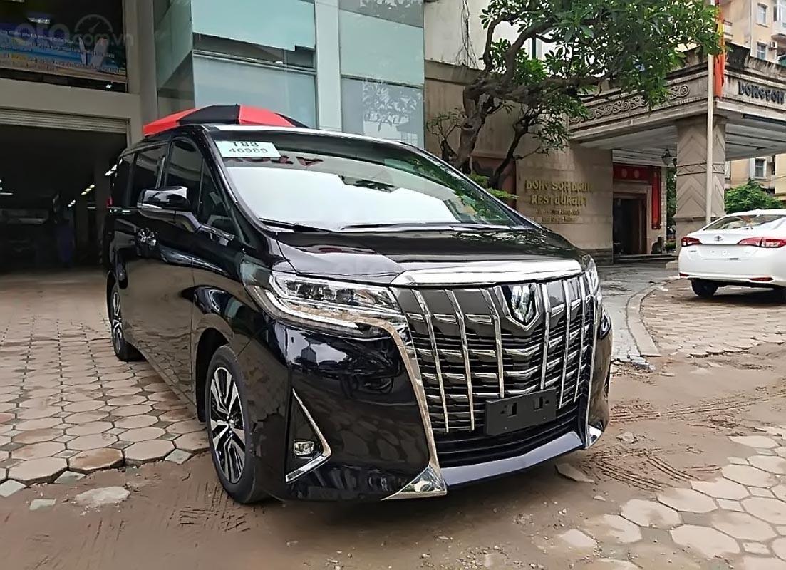 Bán ô tô Toyota Alphard năm sản xuất 2019, màu đen, xe nhập (1)