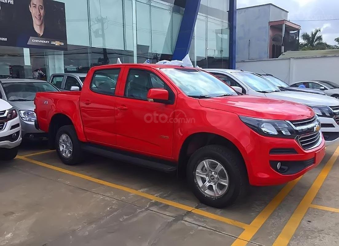 Bán Chevrolet Colorado LT 2.5L 4x2 AT 2019, màu đỏ, nhập khẩu (1)