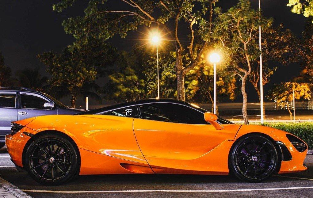 Cường Đô La nâng cấp bộ mâm HRE mới cho McLaren 720S.
