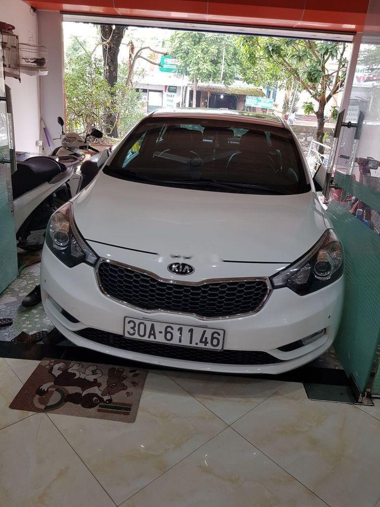 Chính chủ bán Kia K3 2016, màu trắng, 525tr (1)