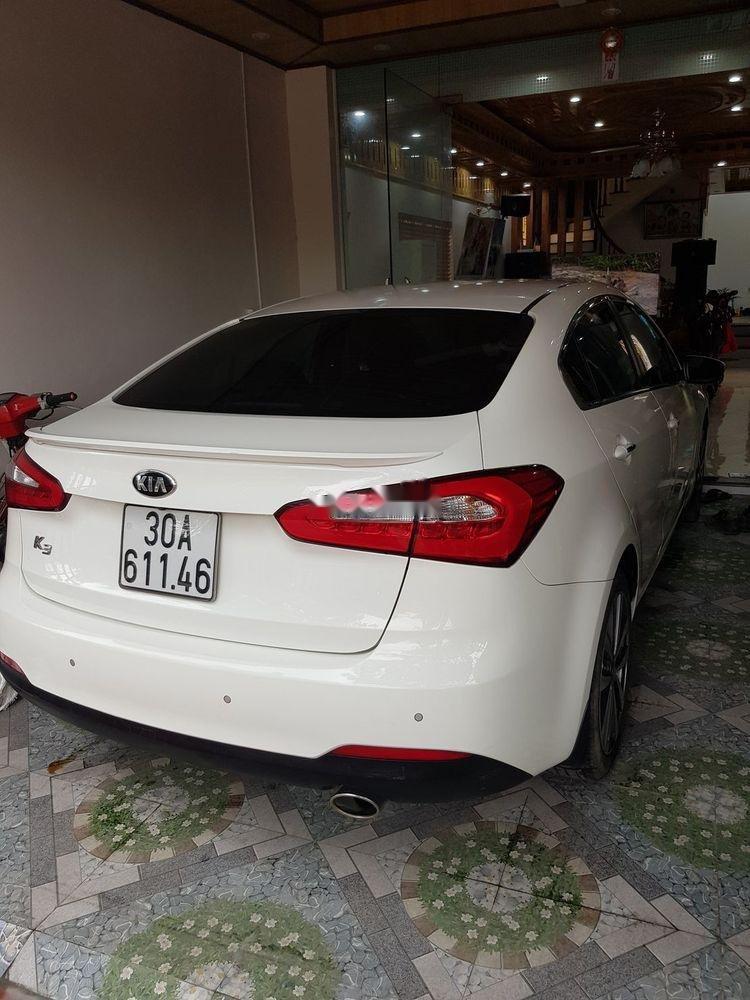 Chính chủ bán Kia K3 2016, màu trắng, 525tr (4)
