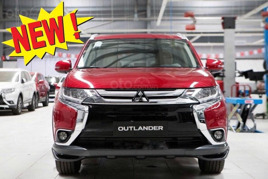 Giá xe Mitsubishi Outlander 2.0 CVT Premium 2019, màu đỏ, KM tặng hấp dẫn bất ngờ, LH 0909076622 (1)