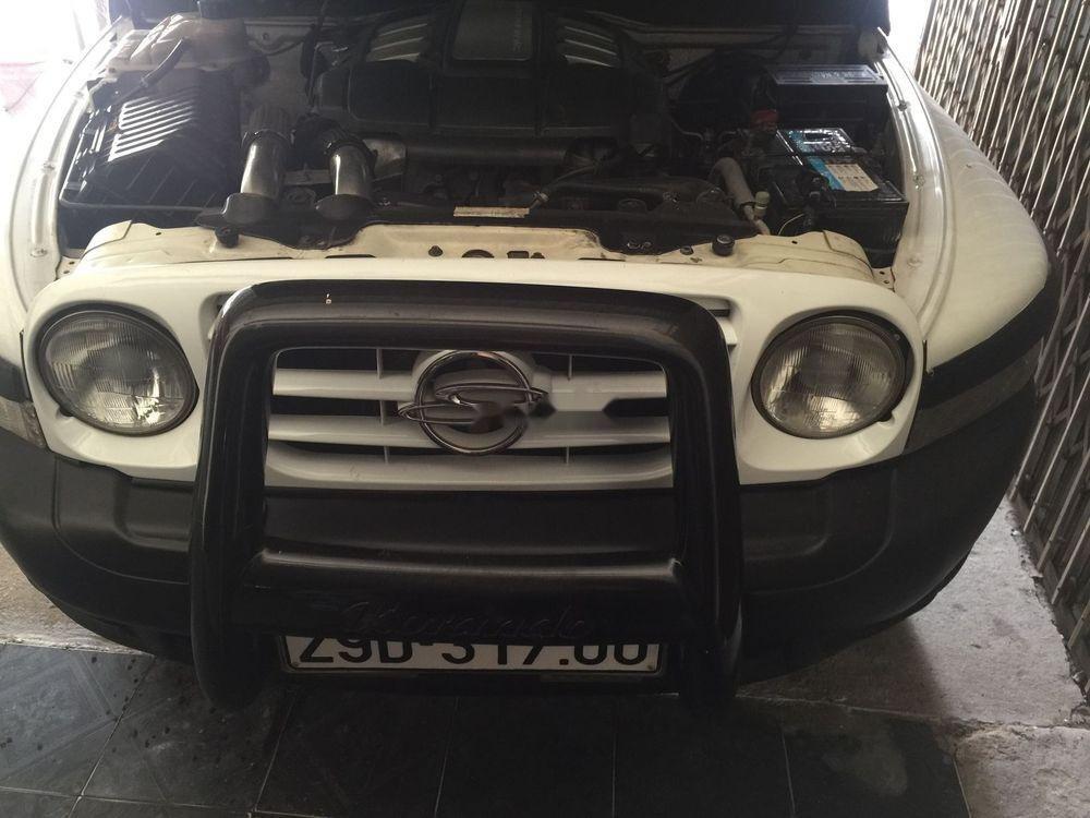 Bán Ssangyong Korando sản xuất 2009, màu trắng, xe nhập -0