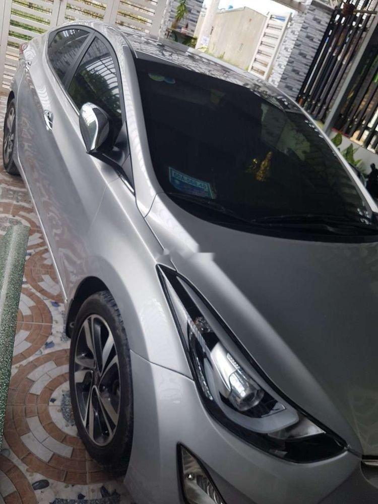Cần bán Hyundai Elantra đời 2014, màu bạc, nhập khẩu nguyên chiếc ít sử dụng, giá 500tr (2)