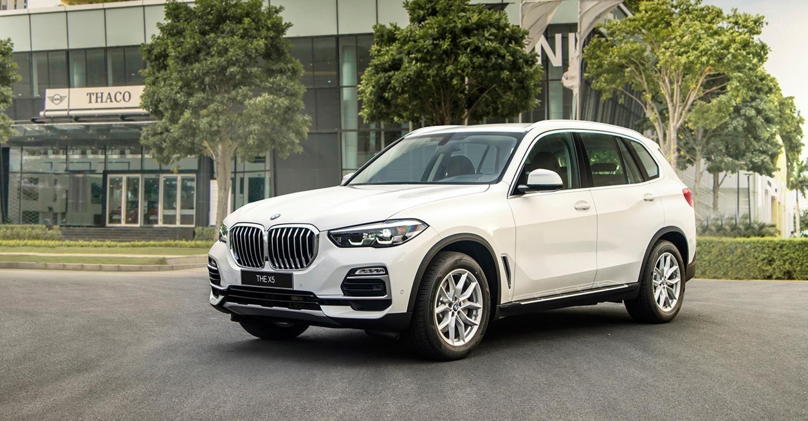 BMW X5 Xdrive 40i 2019 SUV thể thao, mạnh mẽ, màu trắng, xe nhập khẩu Đức 5+2 chỗ (1)